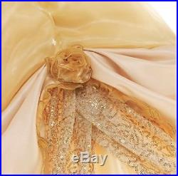 Disney Store Belle Premium Costume Dress Girls 3-4 Y Beauty & The Beast RRP£250