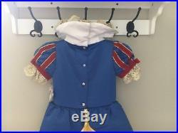 Disney Store Deluxe Snow White Costume Dress NWT