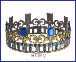 Disney Store Descendants 3 Audrey Costume 7/8 Disney Full Crown Necklace Wig