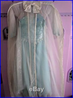 Disney Store Frozen Elsa Limited Edition LE Costume RARE! Size 5