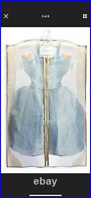 Disney Store Limited Edition Deluxe Cinderella Movie PrincessButterfly Dress 7-8