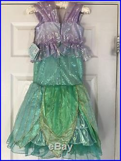Disney Store Limited Edition The Little Mermaid Costume for Girls Size 5 Ariel