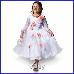 Disney Store Live Action Beauty & Beast Belle Deluxe Celebration Dress 11/12 XL
