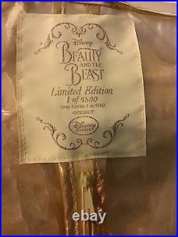 Disney Store Princess Belle Deluxe Dress Beauty Beast Age 6 Ltd Edt £200 New