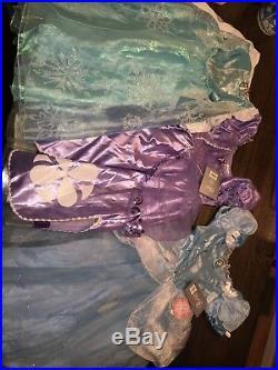 Disney Store Princess Dress Up Lot NWT 5/6