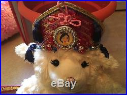 Disney Store Princess Mulan Dress Up Kimono Costume Size S 6/6x NEW Crown Fan