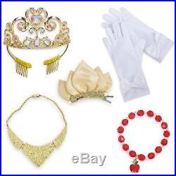 Disney Store Princess Wardrobe Tiana Cinderella Aurora Snow White Dress Costume