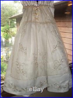 Disney Store Rapunzel Wedding Limited Edit 4000 Size 6 Dress Costume Tangled GUC