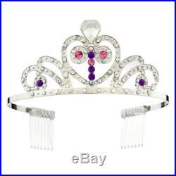 Disney Store SOFIA the FIRST Dress Princess COSTUME Set Tiara & Amulet -Size 4