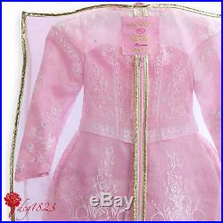 Disney Store Sleeping Beauty Dress Limited Edition Pink Gown For Girls 6 Years
