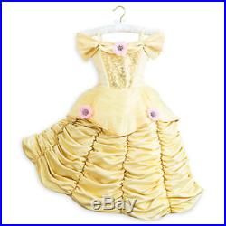 Disney Store Theatrical Deluxe Belle Dress Costume. Size 9/10 NWT FREE SHIPPING