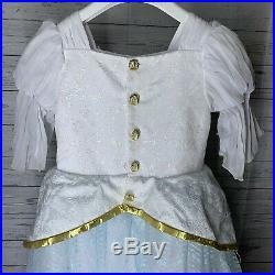 Disney World Bibbidi-Bobbidi-Boutique Little Mermaid Ariel Dress Size 7/8 NEW