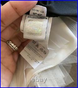 Dolce & Gabbana Fancy Floral Girls Dress 4Y
