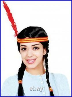 Dress Up America Kids Indian Girl Wig