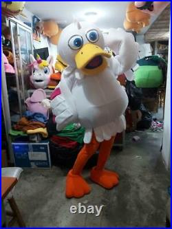 Duck Girl Animal Farm Mascot Costume Character Cosplay Halloween Party Event