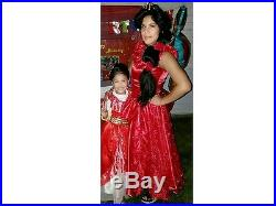 Elena of Avalor Disney Girls costume dress party kids ball gown princess attire