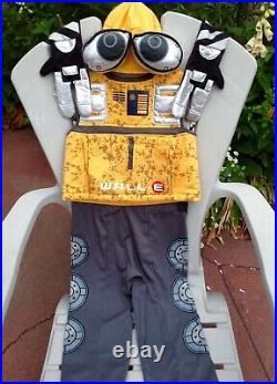 Euro Disney Pixar Walle Wall E Robot Hat Costume Complete Child Boys Girl Xs 3-4