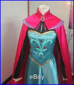 Frozen Vestito Carnevale Elsa Donna Dress up Elsa Woman Costume Cosplay 8899070