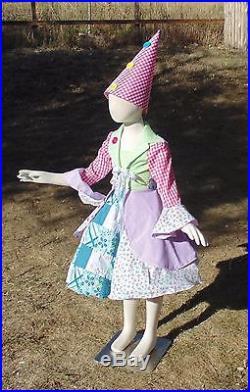 Girls 6-8 4 piece Buttons the Clown! Petticoat hat dress Christmas nutcracker