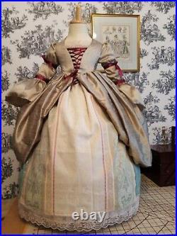 Girls Age 2-3 years Costume Vintage Cinderella Fantasy Dress Up imagination