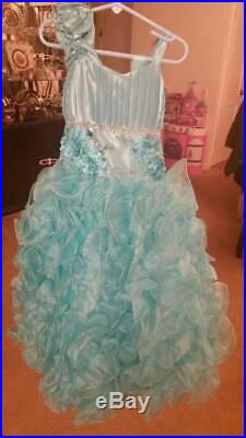 Girls Beautiful Fancy Dress sz 6
