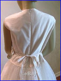 Girls Dress Helena White Silk NWT Flower Girl Tulle Dress Sz 10 Pristine Fancy