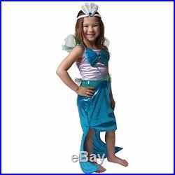 Girls Pretty Pink Princess Dress Up Basic Trunk, Green Fairy and Purple/Blue 6/8