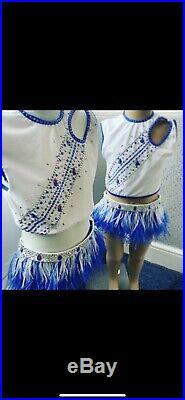 Girls Rock N Roll Rnr Costumes U8 6-7-8-9Years