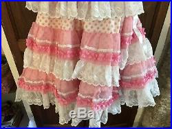 Girls/ Small Woman Beautiful Genuine Spanish flamenco Dress
