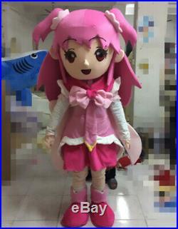 Halloween Magic Girl Mascot Costume Anime Cosplay Fancy Dress Character Outfits