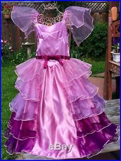 Harry Potter Goblet Of Fire Hermione Granger Yule Ball Costume Dress Girls M 6 8