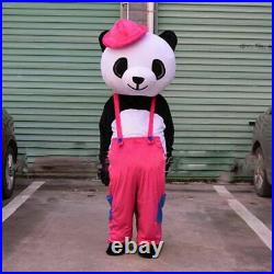 Hot Girl Panda Mascot Costume Suit Cosplay Game Dress Outfit Halloween Adult