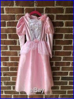 Huge Girls DRESS UP LOT Disney Princess Dresses S 4-6 Child Shoes Crowns Rack