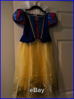 Huge lot of disney princess costumes, accessories, shoes, jewelry 5/6 years