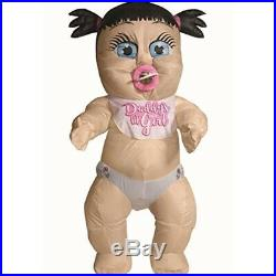 Inflatable Baby Girl Adult Fancy Dress Costume Standard