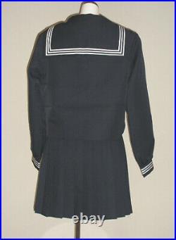Japanese Sailor Real Uniform Girl JK Student School Cosplay Costume Morimura