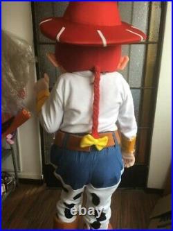 Jessie Cow Girl Mascot Adult Professional Costume