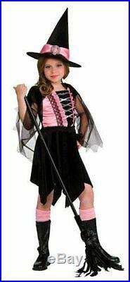 Job Lot 55 X Rubies Girls Halloween Glamour Witch Fancy Dress Costume & Hat