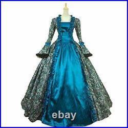KEMAO Women's Victorian Rococo Dress Inspiration Maiden Costume