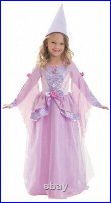 Karnevalskostüm Faschingskostüm Mädchen Kleid Aymax Prinzessin rosa S/M