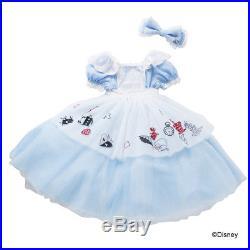 Kids Disney Dress Princess Alice in Wonderland for Girls 3t 4t 5 Juniors Fancy