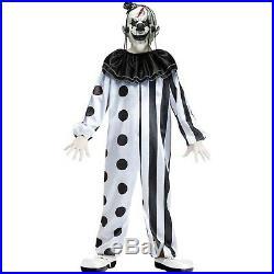 Killer Clown Costume for Kids 10-12 Years Multi Coloured