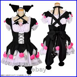 Kuromi Maid Costume Cosplay 8mm 3L / 5L Size Halloween SANRIO LICENSED PRODUCT