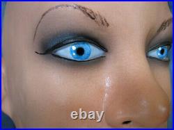 Latex Mask JOLIE +EYES +TEETH Female Woman Girl Face Crossdressing Sissy Trans