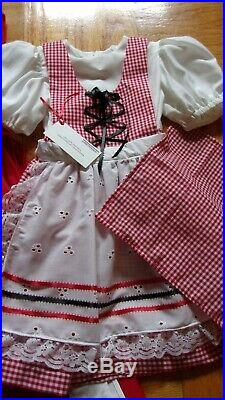 Little Red Riding Hood NWT Boutique Halloween costume Girl sz 3T Complete