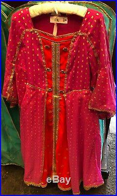 Live Action Disney Princess Jasmine from Aladdin Costume Girls NWT Magic Kingdom