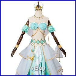LoveLive Mermaid Festa Kanan Matsuura Gorgeous Dress Cosplay Costume Awakening