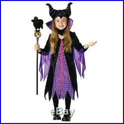 Maleficent Child Costume Halloween RUBIE's 95321M Disney Japan New F/s