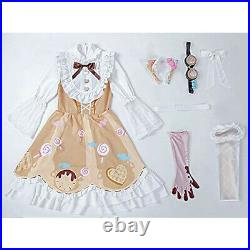Milky time Fifth personality mechanical engineer candy girl style cospla NEW