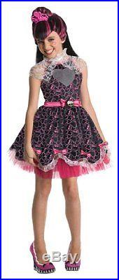 Monster High Draculaura Sweet 1600 Kids Costume 3 4 Years Kids Sizes 3-4 Years